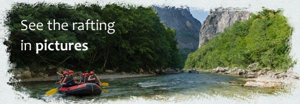 Neretva rafting - photos