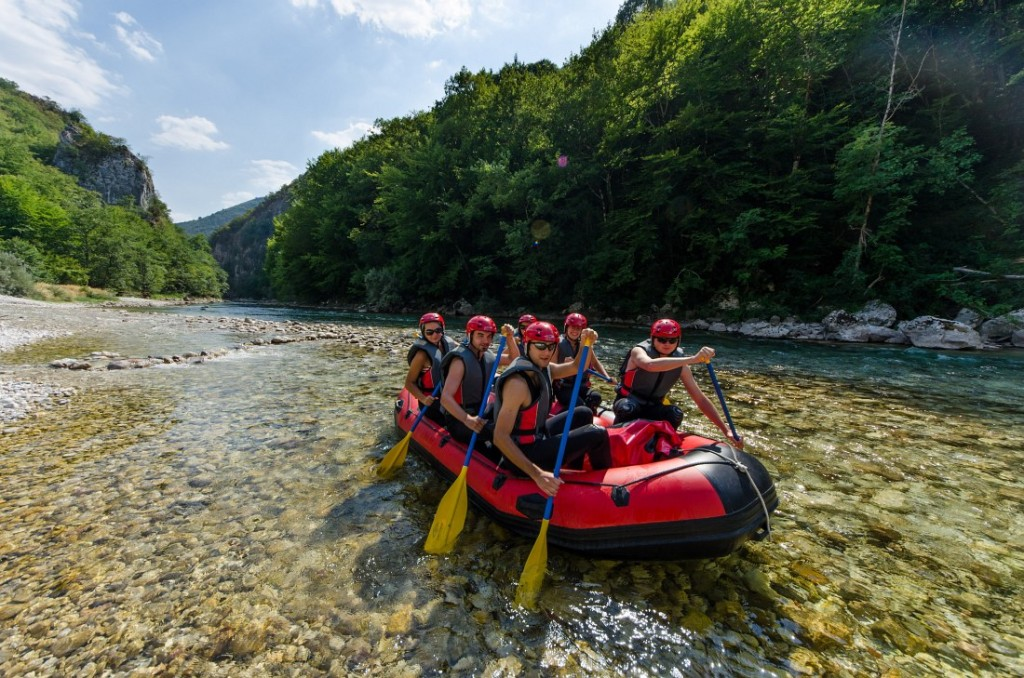 neretva rafting a complete package of adventure and fun raft kor