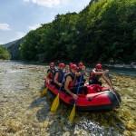 Neretva rafting in action