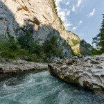 Rafting on Neretva