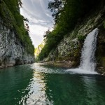 waterfall on Neretva