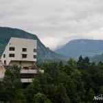 An abandoned hotel in Sutjeska NP