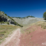 Dirt road from Umoljani to Lukomir