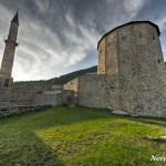 Fortress and mosque in Travnik
